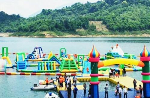Công viên nước nổi ở Bản Ngòi – Hòa Bình - Cong vien nuoc noi o Ban Ngoi – Hoa Binh
